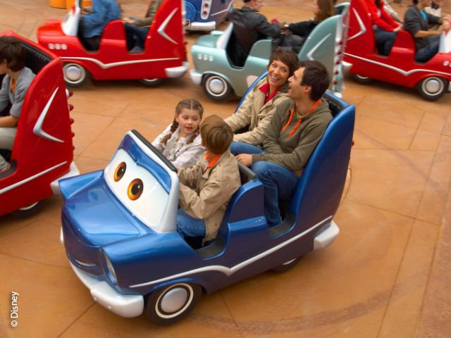 Disneyland Paris - Walt Disney Studios Park - Cars Quatre Roues Rallye