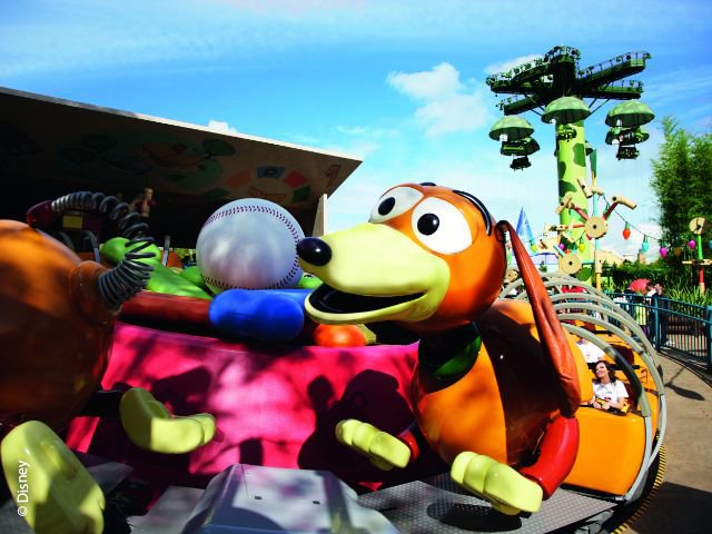 Disneyland Paris - Walt Disney Studios Park - Slinky Dog Zigzag Spin