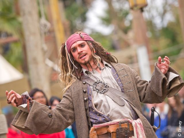Disneyland Paris - Disneyland Park - Captain Jack Sparrow