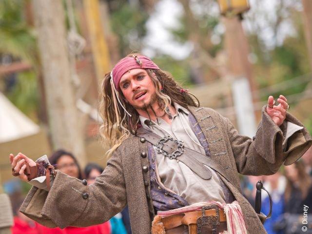 Disneyland Paris - Disneyland Park - Captain Jack Sparrow