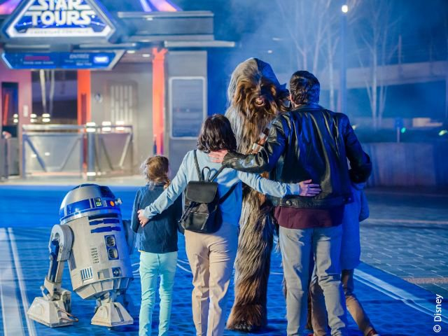 Disneyland Paris - Disneyland Park - Star Tours: L'Aventure Continue