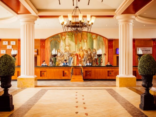 Disneyland Paris - Hotel Dream Castle - receptie