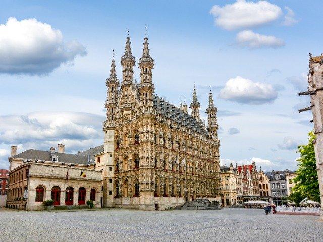 België - Leuven - Stadhuis
