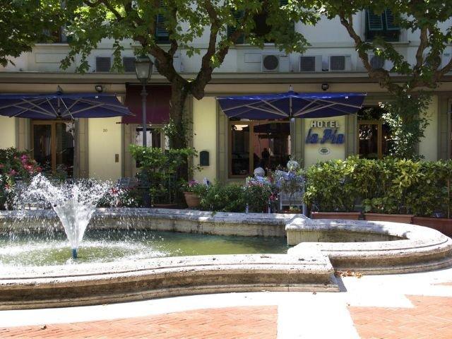 Hotel La Pia voorkant