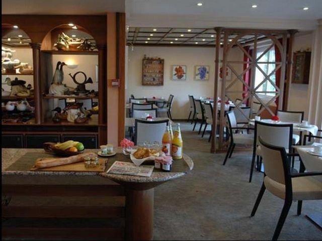 Frankrijk - Kaysersberg - Les Remparts *** - ontbijtzaal
