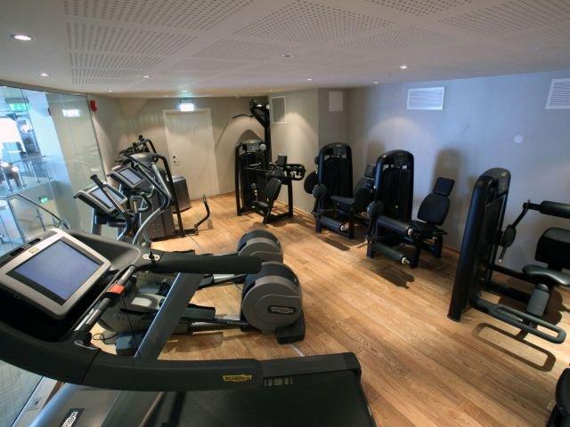 Geilo - Havsdalsgrenda appartementen - fitnessruimte