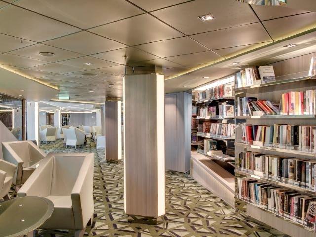MSC Meraviglia - bibliotheek
