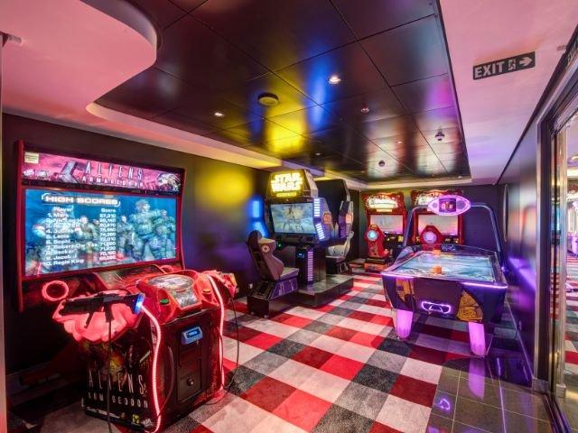 MSC Meraviglia - games arcade