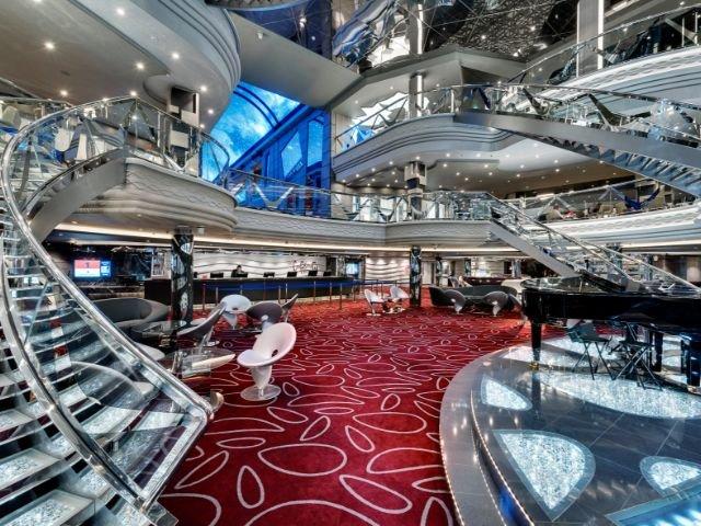 MSC Meraviglia - Infinity Atrium