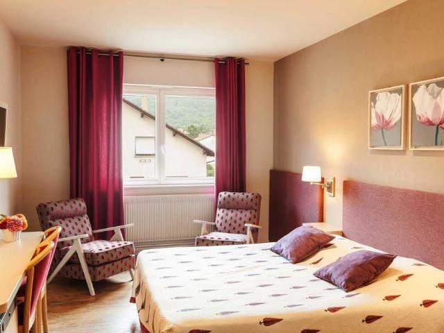 Frankrijk Elzas Kaysersberg Hotel Les Remparts*** voorbeeld kamer