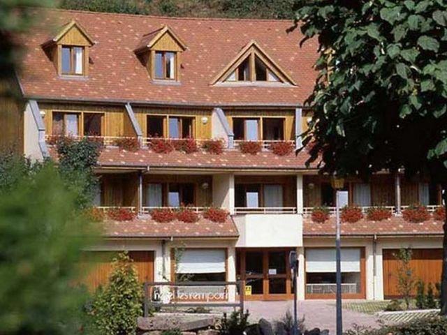 Frankrijk Elzas Kaysersberg Hotel Les Remparts*** exterieur