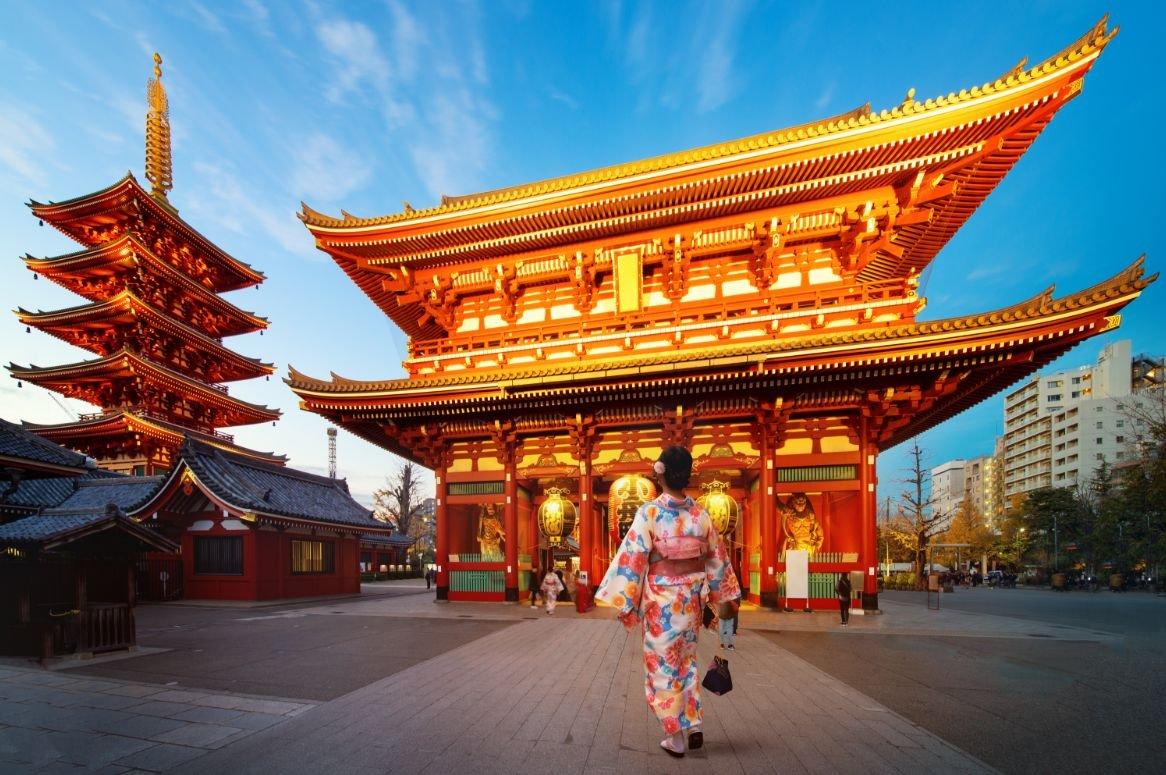 Japan Tokyo tempel