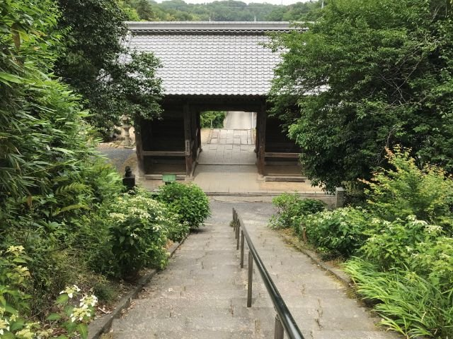Japan tempel Higashimatsuyama
