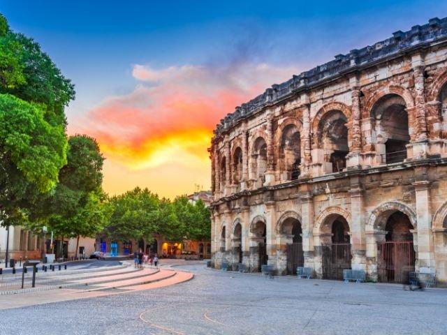 Frankrijk_Nîmes_ Arena