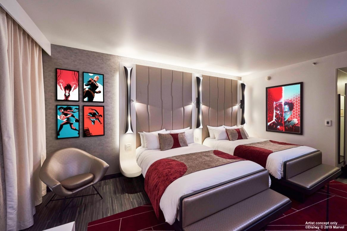 Disneyland Paris - Disney's Hotel New York - The Art of Marvel - 4-persoonskamer