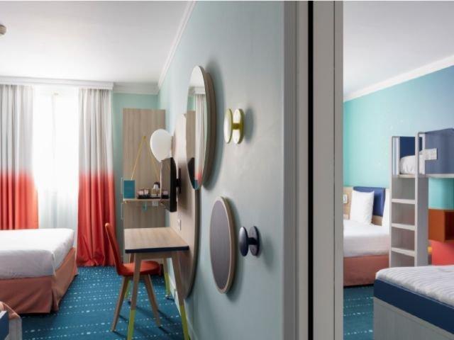 Disneyland Paris - Hotel Magic Circus - 8 persoonskamer