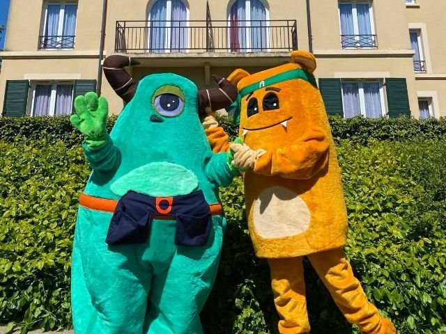 Disneyland Paris - Hotel Campanile Val de France - mascottes