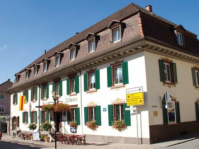 Zell im Wiesental - Hotel Löwen *** - aanzicht