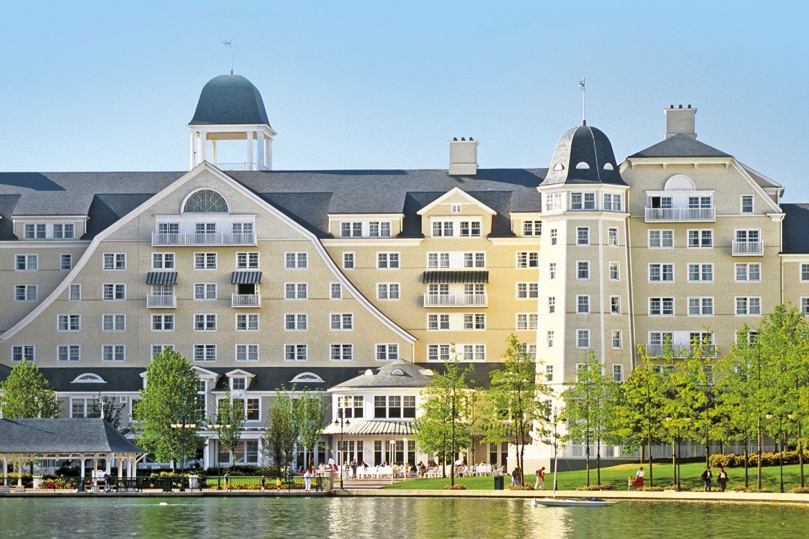 Disney's Hotel Newport Bay club - aanzicht