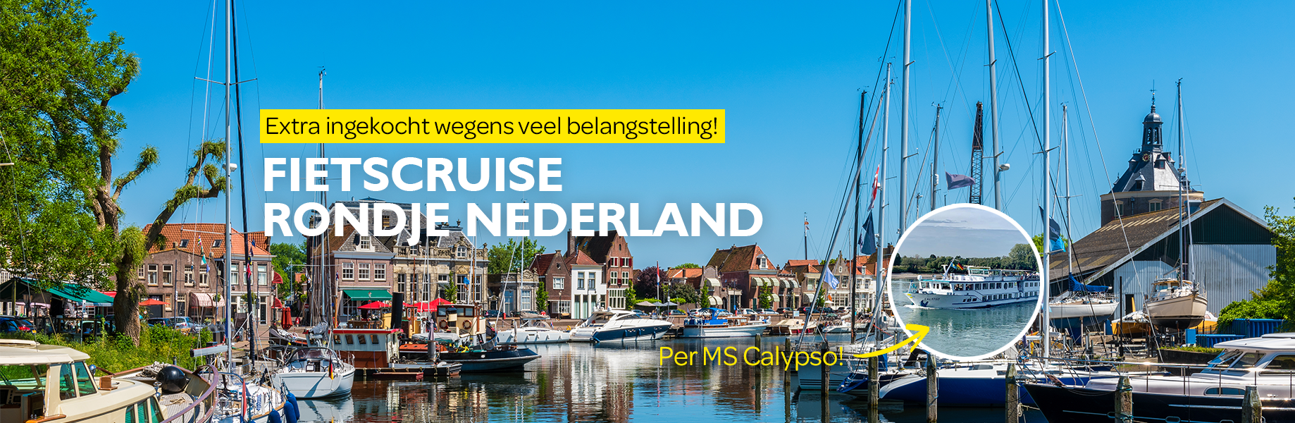 Homepage Fietscruise rondje Nederland