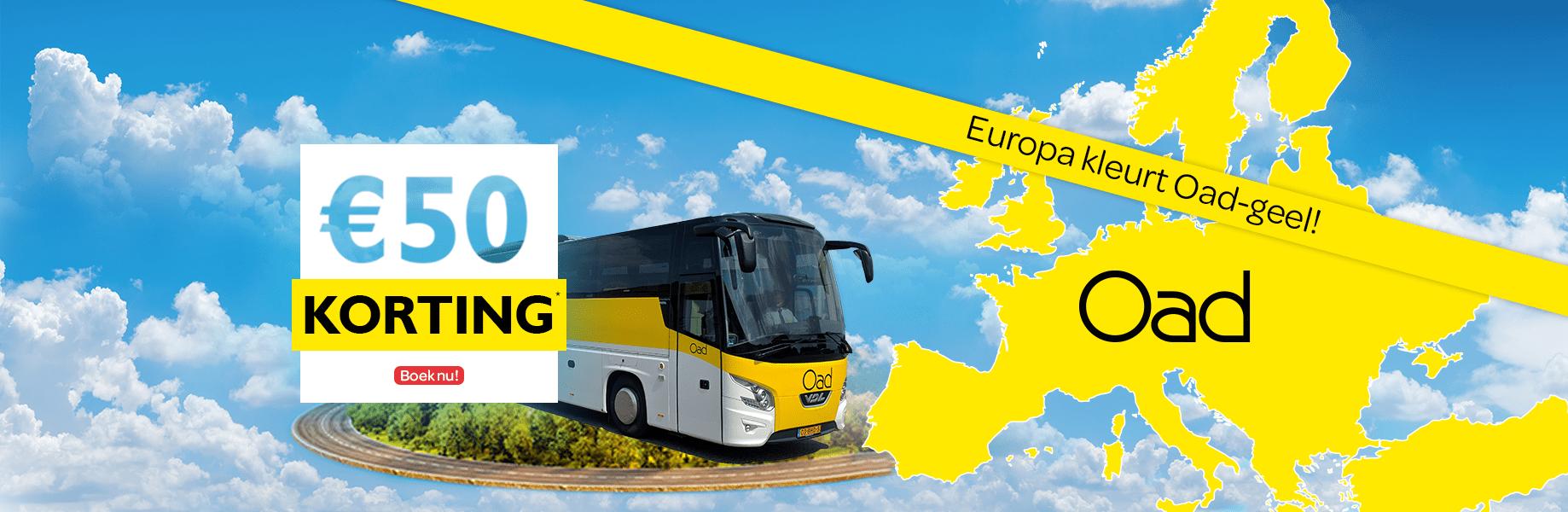 Homepage Europa kleurt oad geel