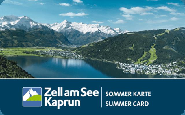 Zell am See Kaprun - Sommer Karte