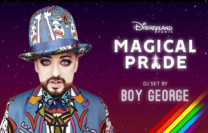 Disneyland Paris - Magical Pride - Boy George