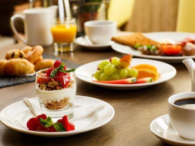 York - Mercure Fairfield Manor - voorbeeld ontbijt