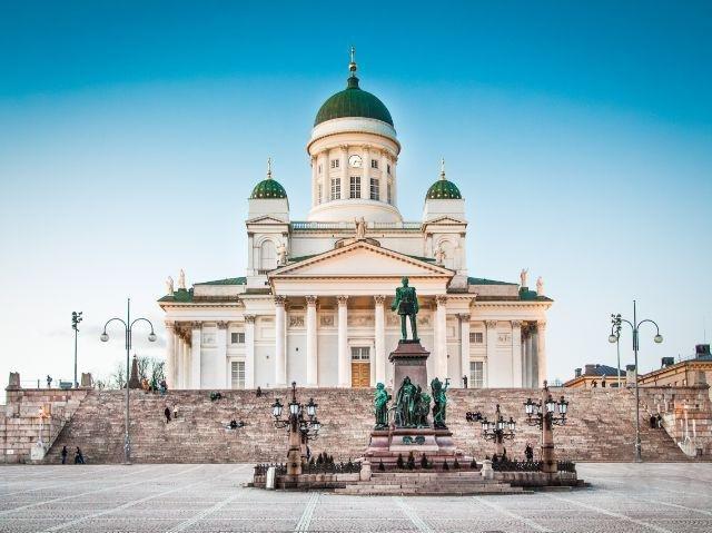 Finland - Helsinki - kathedraal
