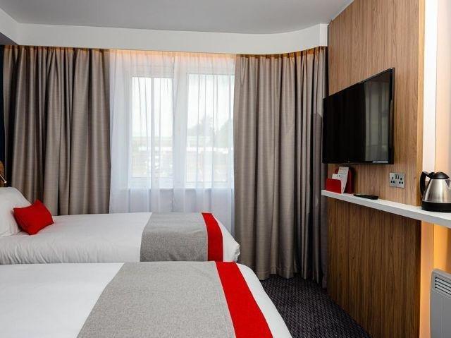 Engeland - Canterbury - Holiday Inn Express Canterbury - voorbeeldkamer