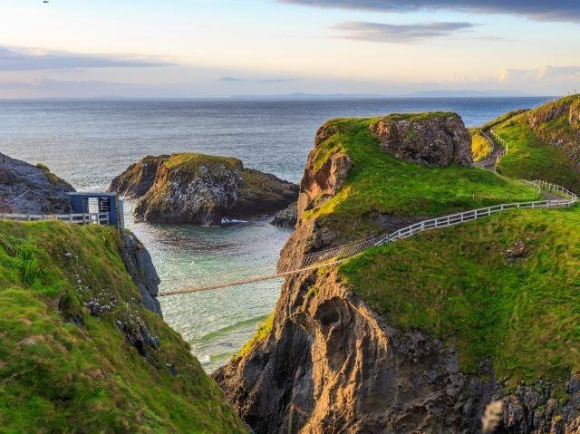 Noord-Ierland - Antrim Coast - Carrick-a-Rede Rope bridge