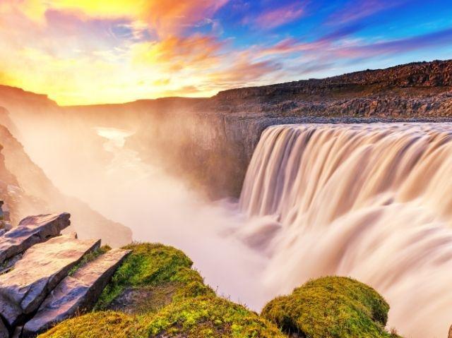 IJsland - Dettifoss Watervallen