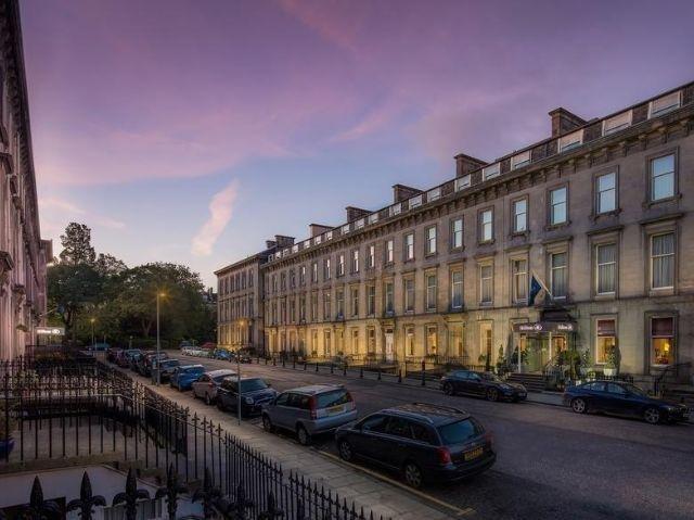 Schotland - Edinburgh - Hilton Hotel Edinburgh Grosvenor **** - aanzicht