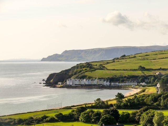 Noord-Ierland Antrim Coast -omgeving Cushenden