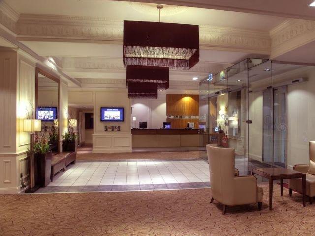 Schotland - Edinburgh - Hilton Hotel Edinburgh Grosvenor **** - receptie