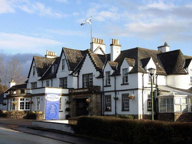 Schotland - Glasgow - Best Western Buchanan Arms Hotel & Spa *** - aanzicht