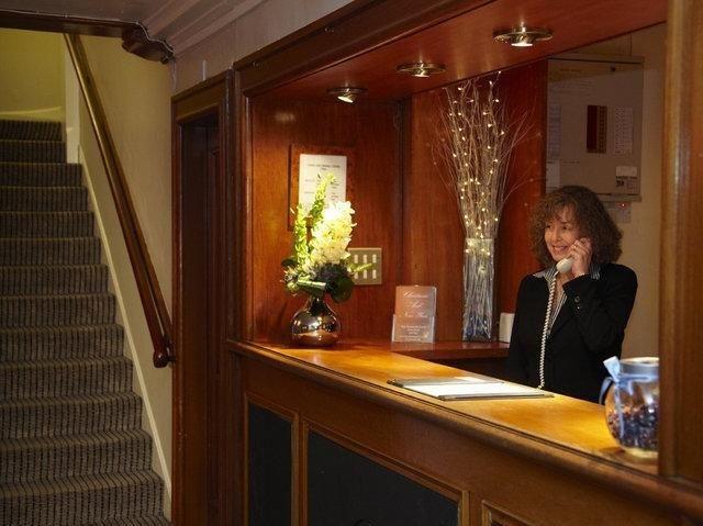 Schotland - Glasgow - Best Western Buchanan Arms Hotel & Spa *** - receptie
