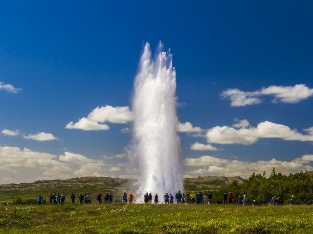 IJsland - Gouden Cirkel - Strokkur geiser
