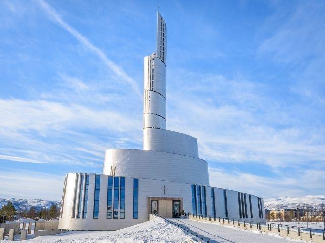 Noorwegen - Alta - Noorderlicht Kathedraal