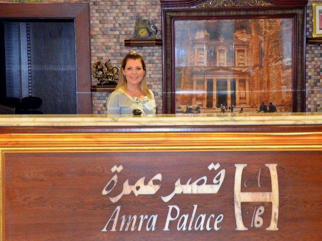 Amra Palace Hotel - Receptie