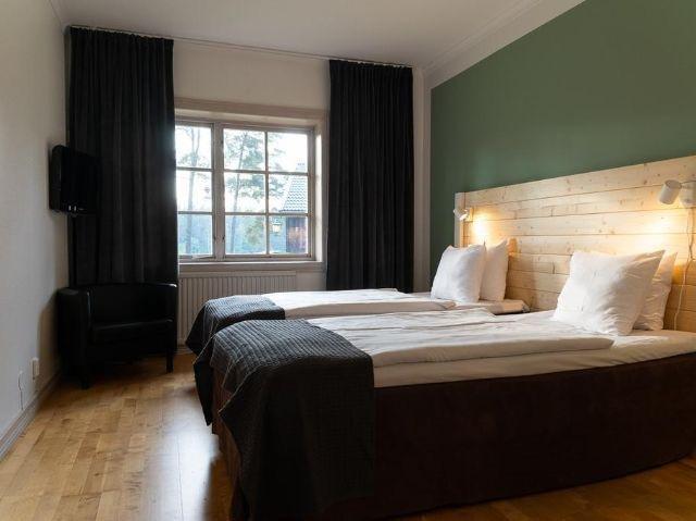 Zweden - Jönköping e.o. - Hotel Mullsjö - voorbeeldkamer