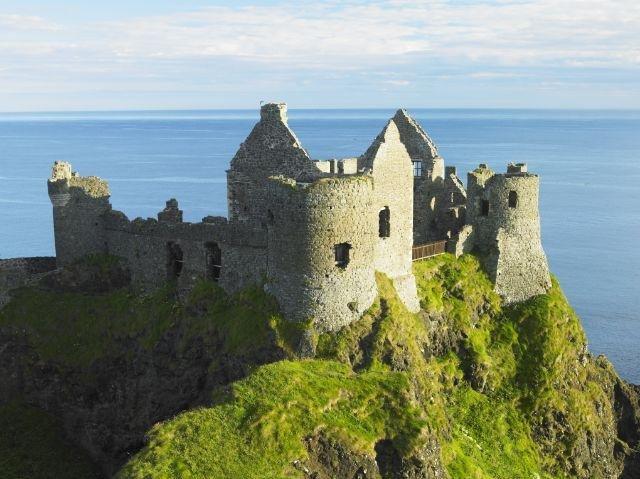 Noord-Ierland Antrim Coast - Dunluce Castle