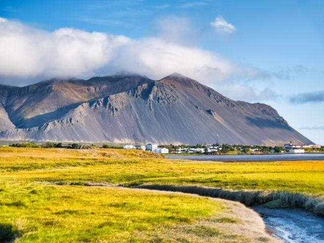 IJsland - omgeving Borgarnes