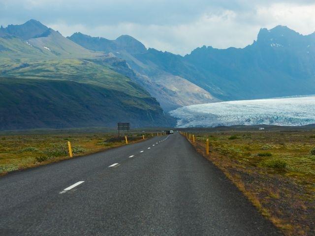 IJsland - Skaftafell Gletsjer