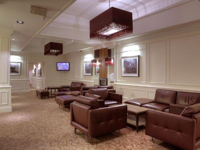 Schotland - Edinburgh - Hilton Hotel Edinburgh Grosvenor **** - lounge