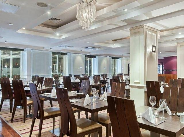 Schotland - Edinburgh - Hilton Hotel Edinburgh Grosvenor **** - restaurant