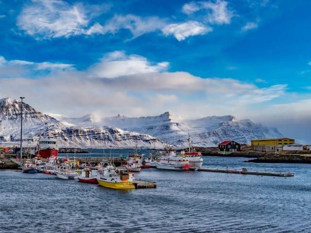 IJsland - Djupivogur haven