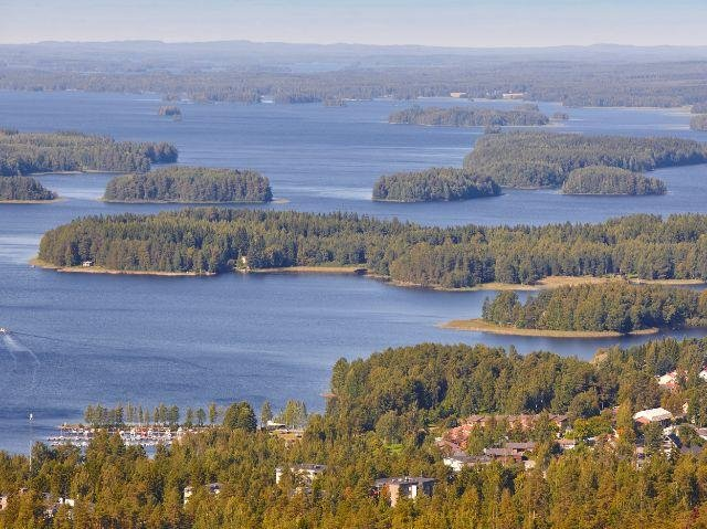 Finland - Fins merengebied - omgeving Kuopio