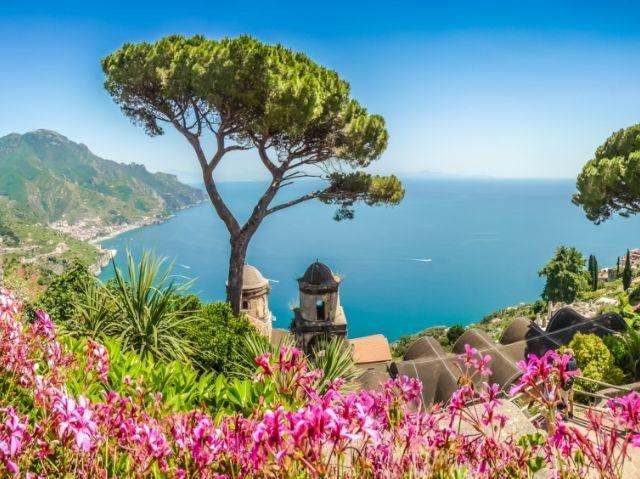 Amalfi, kustlijn