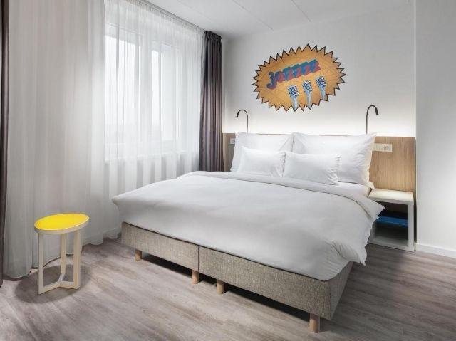 Tsjechië_Praag_Comfort hotel Prague City East_voorbeeld kamer